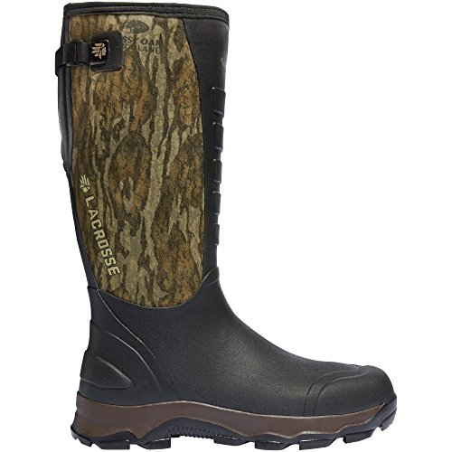 - Lacrosse Men's 4xAlpha 16'' Hunting Boot, Mossy Oak Bottomland, 9 M