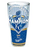 Tervis MLB Kansas City Royals World Series Champs 2015 Wrap Tumbler, 24 oz, Clear