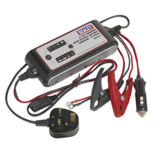 Ring RSC605 12v 5 Amp Start Stop Car Multi Stage Automatic Smart Battery Charger