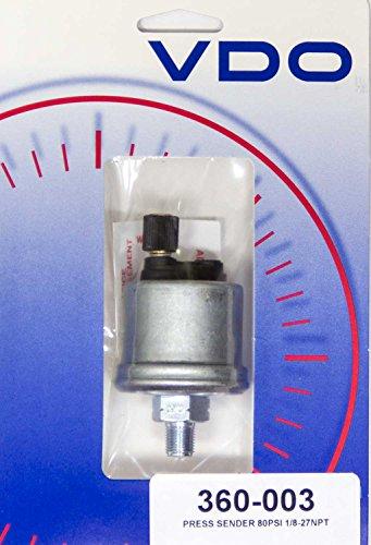 VDO 360003 Pressure Sender - Vdo Pressure Gauge