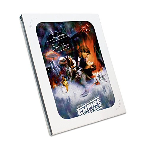 Darth Vader Signed Empire Strikes Back Poster. In Gift Box