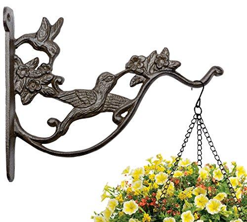 Mkono Hanging Plant Hook Basket Bracket for Bird Feeder Lantern Wind Chime