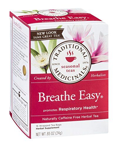 Traditional Medicinals Tea Breathe Easy, 16 ct (Best Tea For Asthma)