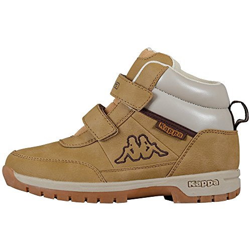 Kappa BRIGHT Unisex-Kinder Hohe Sneakers Beige (4141 beige)