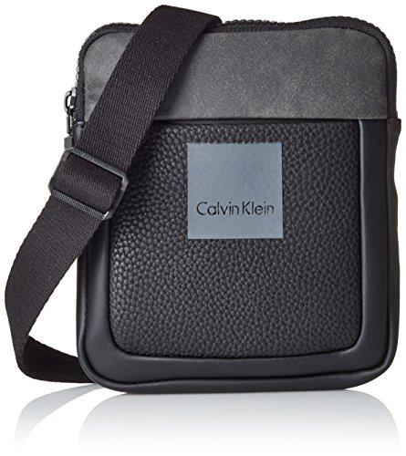 Calvin Klein Boris Mini - Cartera de mano para hombre Negro Noir (001) talla única
