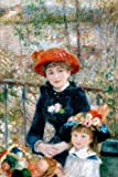 Renoir:  Two Sisters on the Terrace Painting Art Journal: 150 Page Lined Notebook/Diary