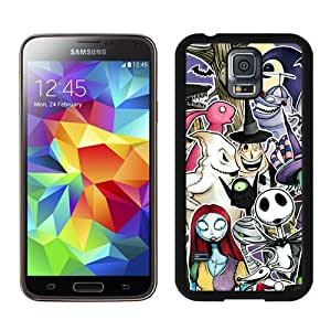 Unique Samsung Galaxy S5 Screen Case ,Popular And Durable Designed Case With Nightmare before christmas AA 26 Black Samsung Galaxy S5 High Quality Phone Case