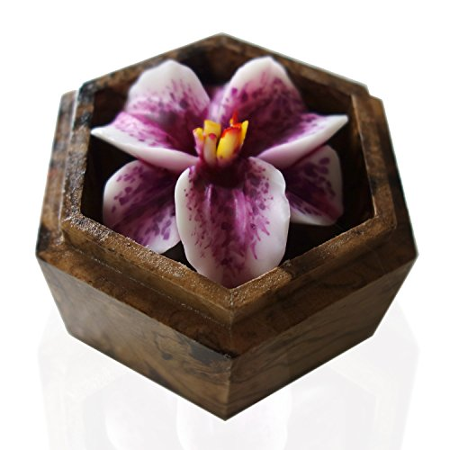 Jittasil thai hand carved soap flower quot scented