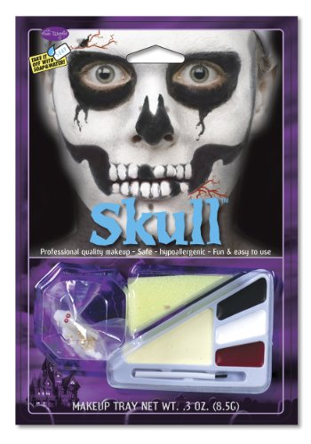 [Skull Makeup Kit] (Skeleton Makeup)