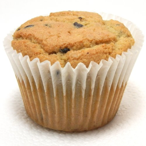 Low Carb Chocolate Chip Muffin - 6 Pack - Best Tasting Diet Product - Usps Delivery Mail Time Priority