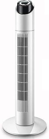 Opinión sobre FHDF Ventilador de Torre portátil oscilante 3 velocidades 3 Viento para el hogar y la Oficina (Blanco, 90 CM) Temporizador de 7.5 Horas