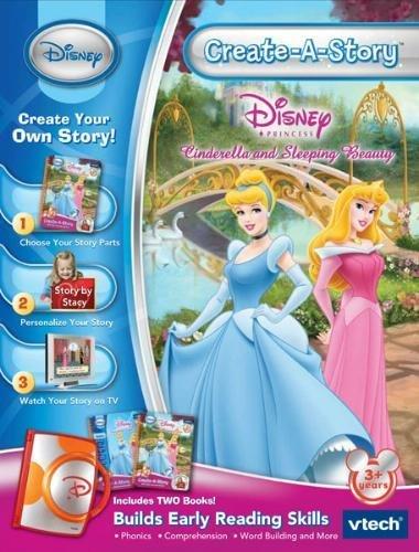 amazon com vtech create a story disney princess cinderella and