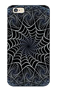 Special Kathewade Skin Case Cover For Iphone 6, Popular Fractal Circles Phone Case For New Year's Day's Gift