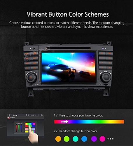 XTRONS Android 6 0 Octa-Core 64Bit 7 Inch Capacitive Touch Screen Car  Stereo Radio DVD Player GPS CANbus Screen Mirroring Function OBD2 Tire  Pressure
