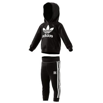adidas Trefoil Hoodie Kinder Trainingsanzug