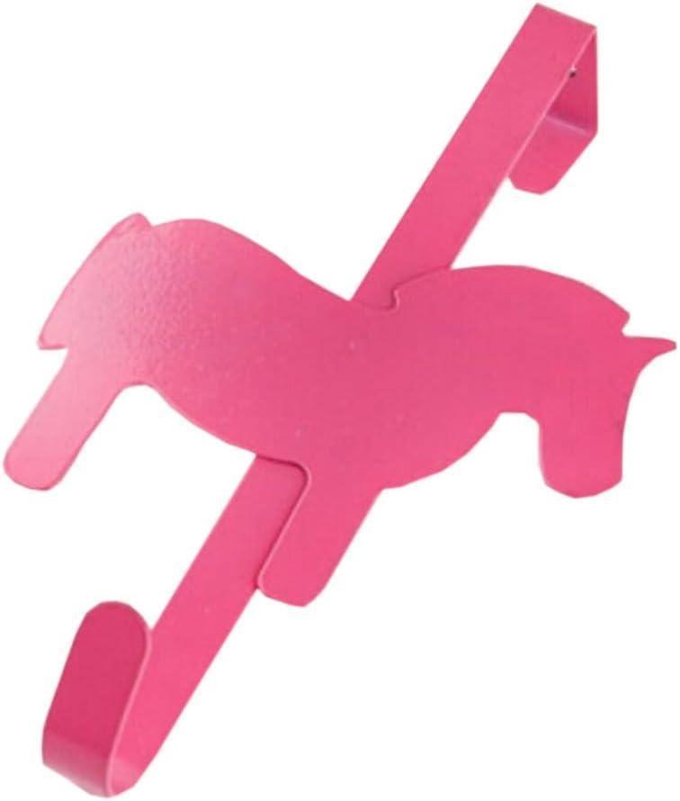 El gancho de la puerta del hierro del caballo ata el solo gancho del gancho de la caída del gancho 2PCs