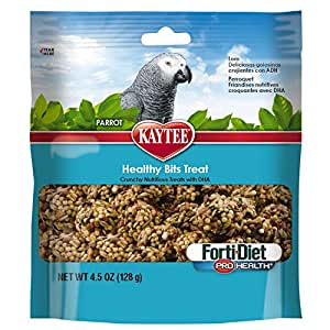 Kaytee forti Diet Pro Health Bits, Parrot, 4.5-Ounce