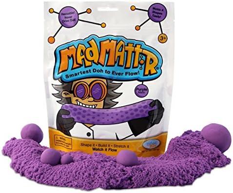 Mad Mattr Super-Soft Modelling Dough Compound that Never Dries Out, 10 Ounces, Purple