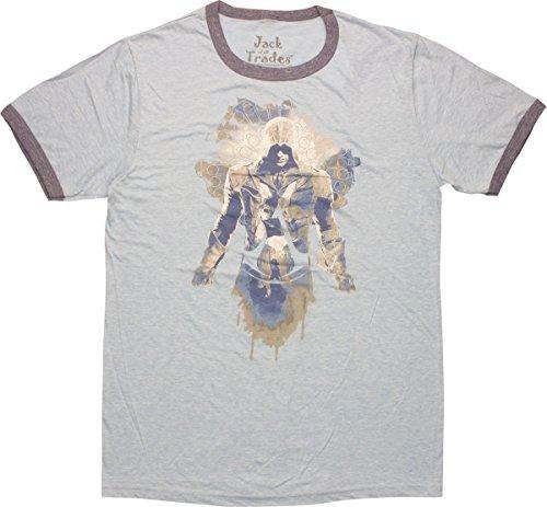 Assassins Creed Arno Dorian Ringer T-Shirt, ()