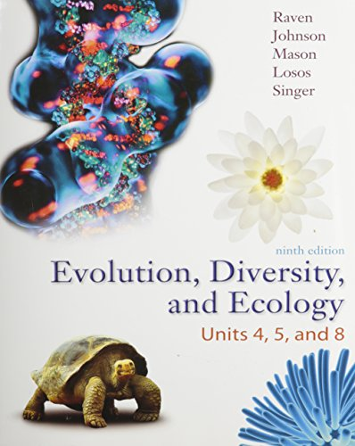 Evolution, Diversity, and Ecology: Units 4, 5, and 8