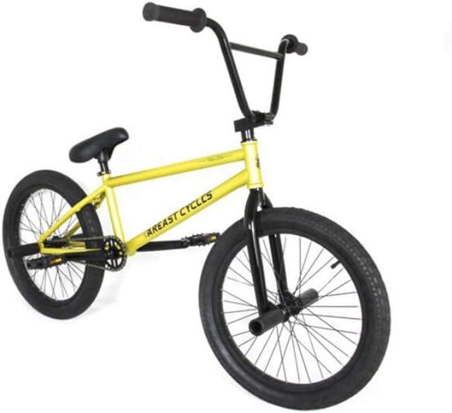 SWORDlimit Bicicleta Freestyle BMX para Principiantes a Ciclistas avanzados, Cuadro de Acero de Alto Carbono y Asiento de Freno Desmontable, Engranaje BMX 25x9T, Tres etapas / 8 Salud/manivela: Amazon.es: Deportes y aire