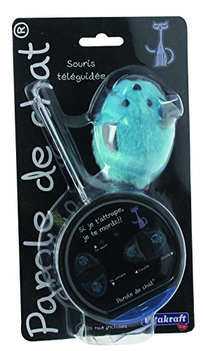 Vitakraft Remote-Controlled Mouse Toy for Cats