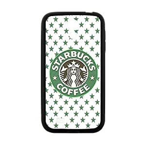 Happy Starbucks design fashion cell phone case for samsung galaxy s4
