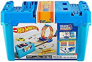 Hot Wheels Track Builder Multi Loop Box Playset