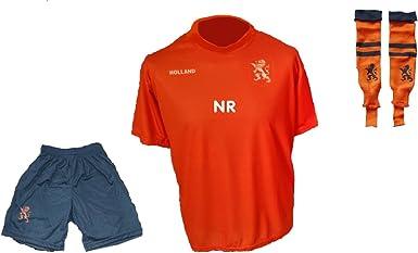 Holland Niederlande Trikot Hose Stutzen mit Wunschname Nummer Kinder Gr/össe 116