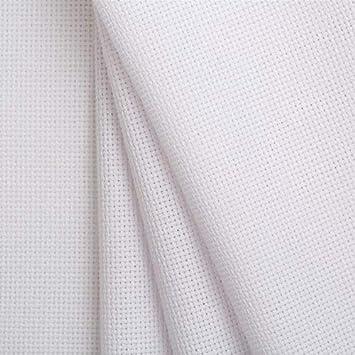 Tela para Punto de Cruz | Panamá 14 ct. -5,5 puntos/cm | de Delicatela (100cm x 150cm): Amazon.es: Hogar
