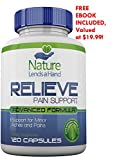 RELIEVE, Natural Pain Relief, 120 Capsules PLUS FREE BONUS, Pain Reliever with Turmeric, Ginger, Boswellia Complex, Bromelain and more!