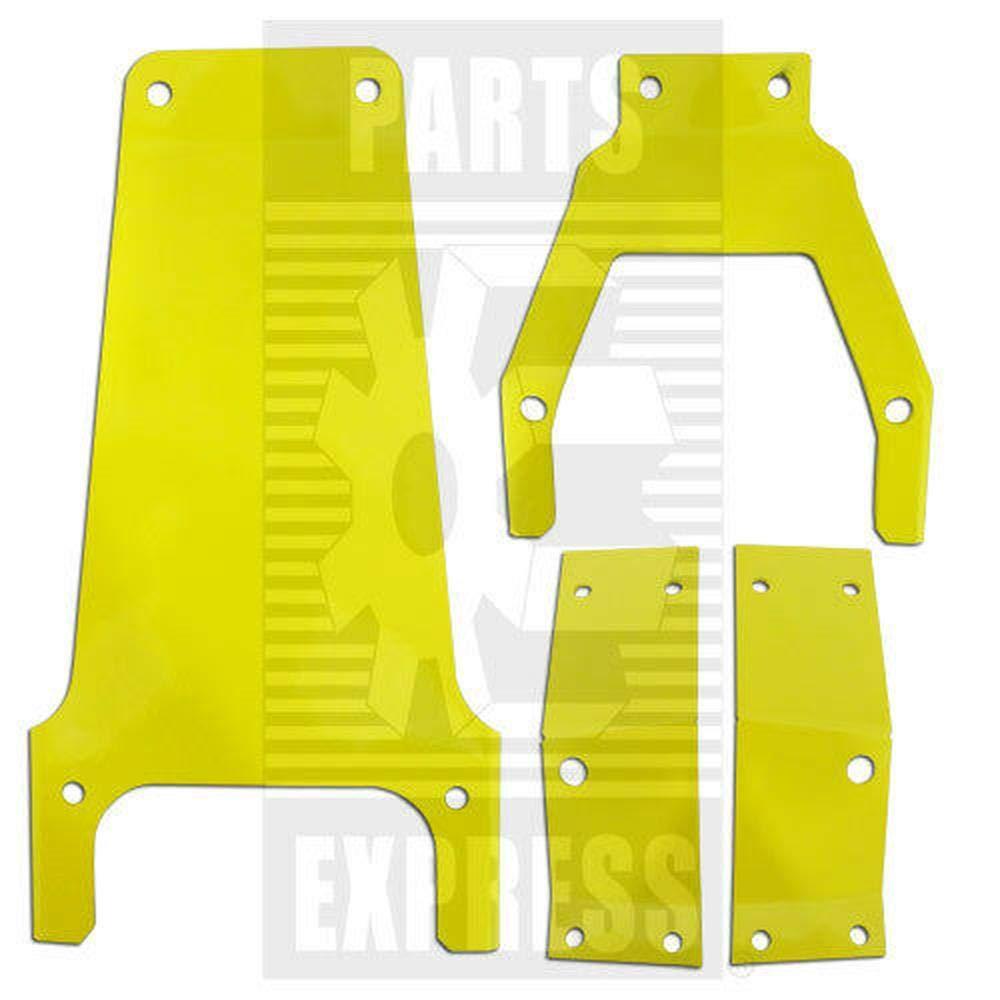 John Deere Tractor 4 Piece Seat Bracket Set 3010 4020 4320 4430 4620 6030 7020
