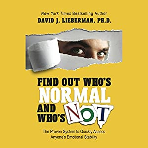 Find Out Who's Normal and Who's Not Audiobook