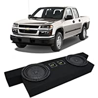 2004-2012 Chevy Colorado Crew Cab Truck Kicker CompVT CVT10 Dual 10 Sub Box Enclosure - Final 2 Ohm