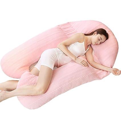 RZ Almohada de Lactancia y Almohada de Embarazo para Dormir ...