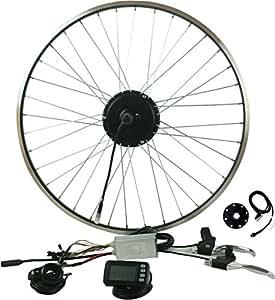 """Prystel 26PT - Kit para Bicicleta eléctrica de 26"""" (Rueda Trasera, 36V/250W) Color Negro"""