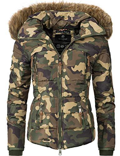8 Camouflage Saranaa D'hiver Couleurs Navahoo Matelassée Pour Veste Femme v8wfBZp