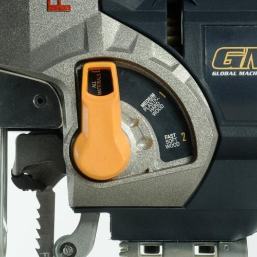 GMC LJS750CF - Sierra de calar pendular con guía láser 750 W: Amazon.es: Coche y moto