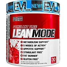 Evlution Nutrition Lean Mode Stimulant-Free Weight Loss Supplement with Garcinia Cambogia, CLA and Green Tea Leaf Extract, 30 Serving (Fruit Punch)