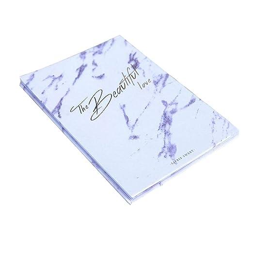 VOSAREA - Libro de firmas de mármol para Bodas, cumpleaños ...