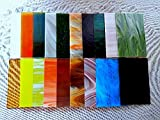 "20 Sheets SPECTRUM Stained Glass (4"" x 6"") Opals Cathedrals Texture"