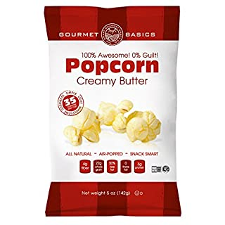 Gourmet Basics Awesome Popcorn Creamy Butter, 5 Ounce (Pack of 12)