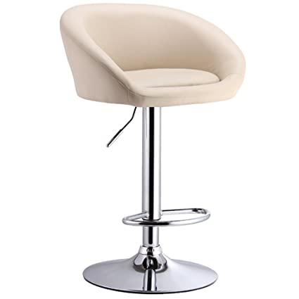 Furniture Generous European High-end Leisure Lifting Bar Chairs Rotating Bar Chair With Backrest In Pain Bar Chairs