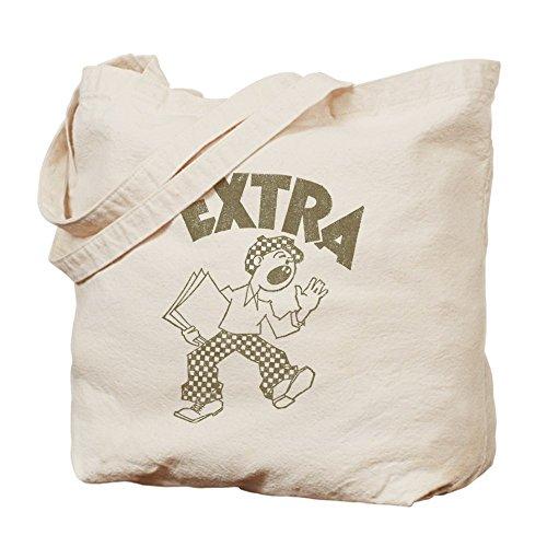CafePress - Retro Newsboy - Natural Canvas Tote Bag, Cloth Shopping (Newsboy Bag)