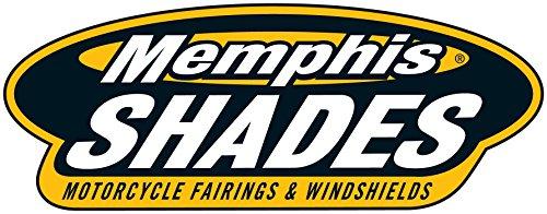 Memphis Shades MEK1978 Trigger-Lock Mounting Kit (Polished fits Honda VTX1300R/S 2003 - 2009) by Memphis Shades