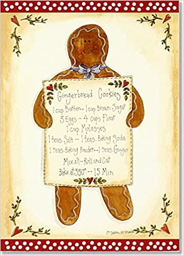 Amazon In Buy Gingerbread Cookies Small Boxed Holiday Cards Book