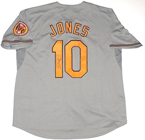 Adam Jones Autographed Jersey (Orioles) at Amazon's Sports ...