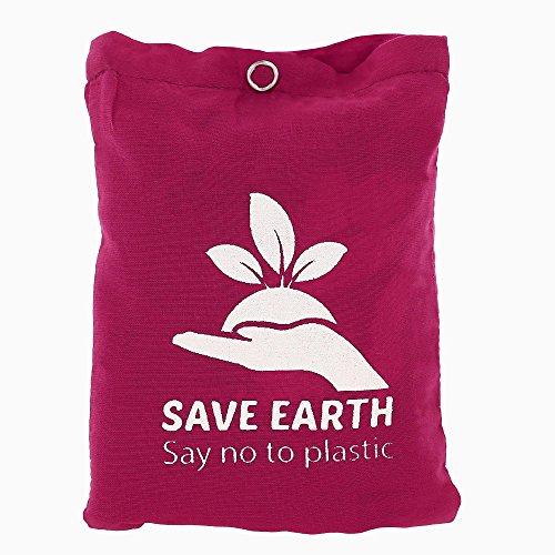 Mehrzweck Speichern Die Erde Kordelzug Oben Rucksack Wein - Wiederverwendbaren Eco Freundliche Baumwoll-Einkaufstasche