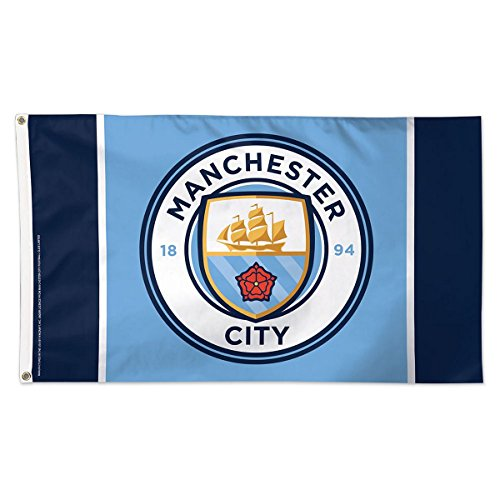 WinCraft Manchester City Football Club Logo Flag For Sale
