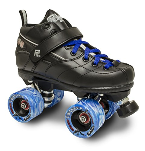 Sure-Grip Rock GT50 Twister Roller Skates W/Blue Twister and Blue LACE Size 11
